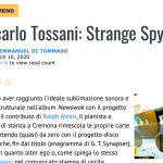 "All About Jazz recensisce ""Strange Spy""! ✴️✴️✴️✴️"